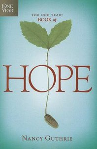 The One Year Book of Hope (Large Print)