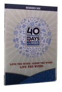 40 Days in the Word: Resource Disk DVD