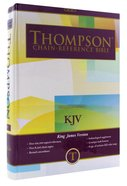 KJV Thompson Chain Reference Study Brown Hardback