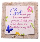 Sentiment Tiles: God/Purpose Plaque