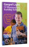 Spring a 2020 Grades 3 & 4: Student Talk Cards (Gospel Light Living Word Series) Paperback