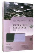 KJV Ultrathin Reference Grey/Periwinkle Duo-Tone Imitation Leather