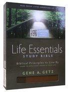HCSB Life Essentials Study Bible Brown