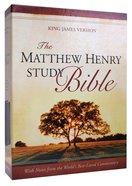 KJV Matthew Henry Study Bible Indexed Blue/Grey Imitation Leather