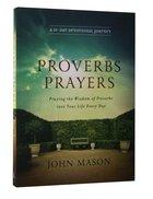 Proverbs Prayers Paperback