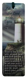 Tassel Bookmark: Let the Lord Guide You