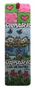 Tassel Bookmark: Free Hugs