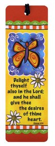 Tassel Bookmark: Delight Thyself Also in the Lord