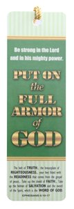 Tassel Bookmark: Put on the Full Armor of God
