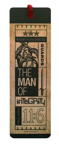 Tassel Bookmark: The Man of Integrity