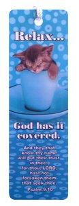 Tassel Bookmark: God Has It Covered