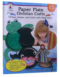 Paper Plate Christian Crafts (K-3)