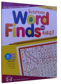Scripture Word Finds For Kids (Reproducible)