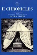 II Chronicles (Anchor Yale Bible Commentaries Series) Paperback