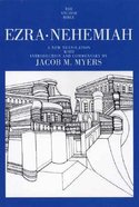 Ezra, Nehemiah (Anchor Yale Bible Commentaries Series)