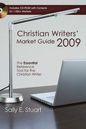 Christian Writers' Market Guide 2009 Paperback