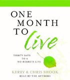 One Month to Live CD