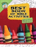 Best Book of Bible Activities: Grades Pk-1