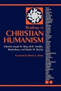 Readings in Christian Humanism Paperback