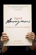 Signed, Anonymous Paperback