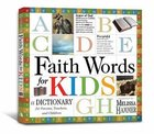 Faith Words For Kids Paperback