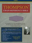 KJV Thompson Chain Reference Handy Size Lavender Imitation Leather