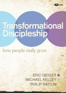 Transformational Discipleship (Dvd) DVD