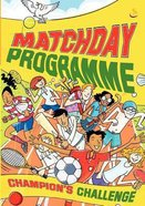 Matchday Programme Activity Book Paperback