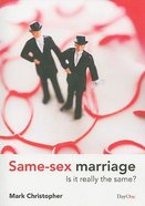 Same Sex Marriage Paperback