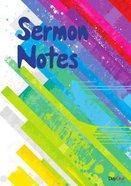 Sermon Notes Stripy
