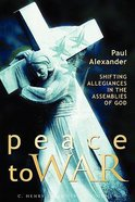 Peace to War Paperback