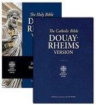 Douay-Rheims Bible Blue Paperback