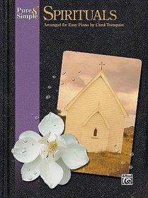 Pure & Simple Spirituals (Music Book)