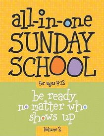 All-In-One Sunday School For Ages 4-12 #02