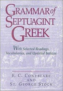 Grammar of Septuagint Greek