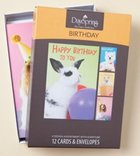 Boxed Cards Birthday: Cute & Cuddly Box