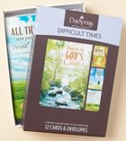 Boxed Cards Difficult Times: God's Care