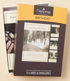 Boxed Cards Birthday: Pressing on Box