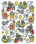 Sticker Pack: The Nativity Novelty