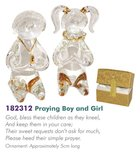 Glass Messengers: Praying Boy & Girl Homeware