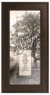 "Framed Plaque: Serenity Prayer (8"" X 16"") (Words Of Grace) Plaque"