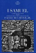 I Samuel (Anchor Yale Bible Commentaries Series) Paperback