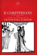 II Corinthians (Anchor Yale Bible Commentaries Series)