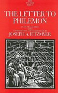 The Letter to Philemon (Anchor Yale Bible Commentaries Series) Hardback
