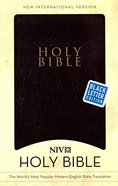 NIV Holy Bible Gift & Award Black (Black Letter) Imitation Leather