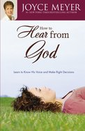 How to Hear From God Paperback