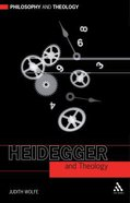 Heidegger and Theology (Philosophy And Theology Series) Paperback