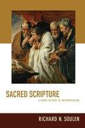 Sacred Scripture Paperback