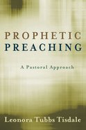 Prophetic Preaching Paperback
