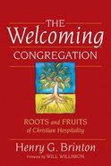 The Welcoming Congregation Paperback